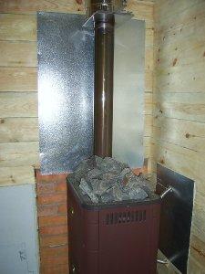 Требования пожарной безопасности банной печи
