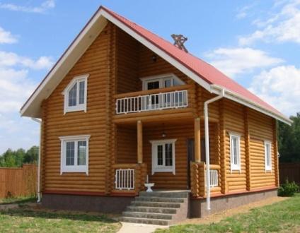 Из чего складывается стоимость деревянного дома: оцилиндрованное бревно, клееный брус и т.п.
